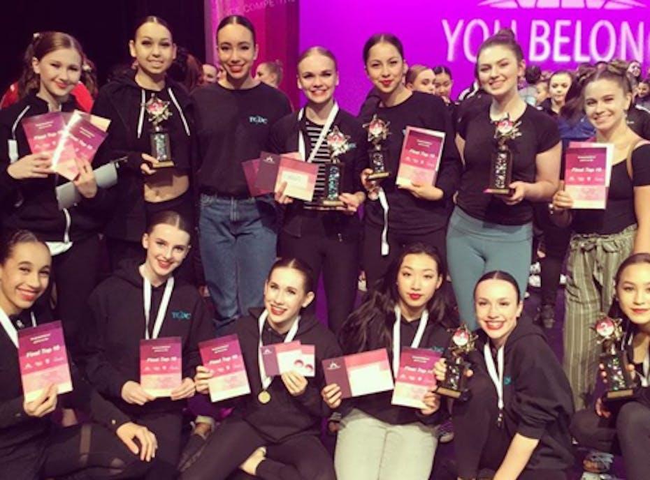 Tri City Dance 2018/19 Touring Team
