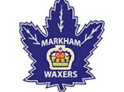 ice hockey fundraising - Markham Waxers Minor Bantam A Team