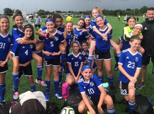sports teams, athletes & associations fundraising - Cape Coral Cyclones 2007 Girls Black