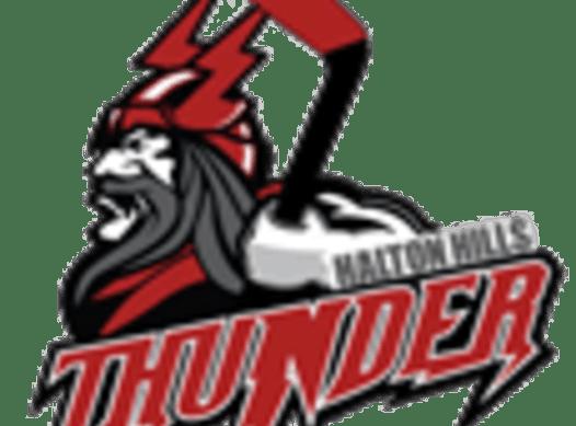 ice hockey fundraising - Halton Hills Thunder Atom AA