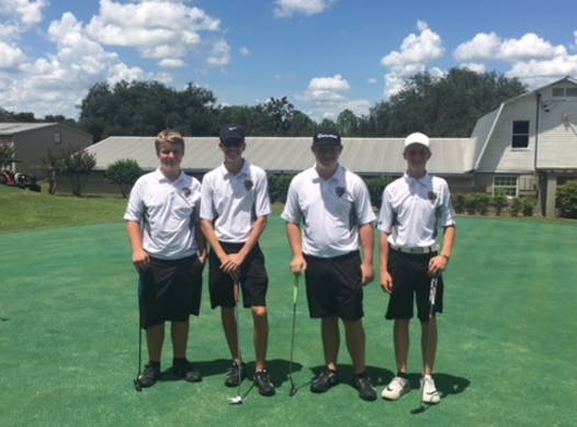 golf fundraising - East Ridge Boys Golf