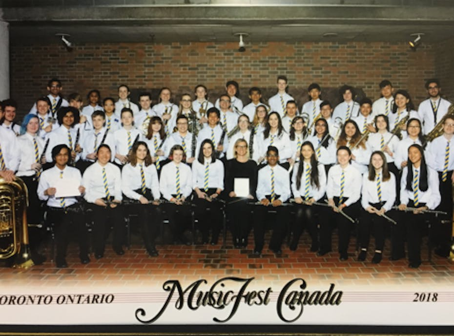 2018-2019 Evan Hardy Collegiate Band Program