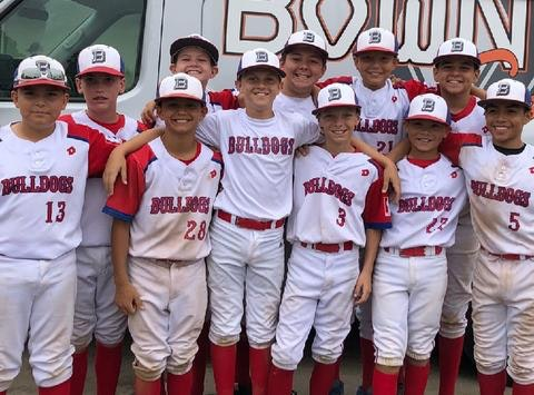 baseball fundraising - THG Bulldogs 12U