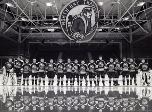 ice hockey fundraising - North Bay Trappers Major Atom A