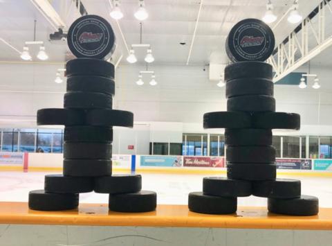 ice hockey fundraising - Oshawa Minor Generals Novice AE