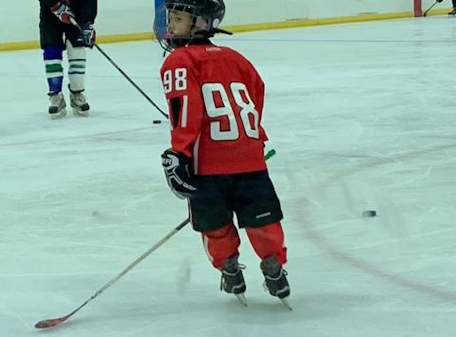 San Diego Youth Hockey Player