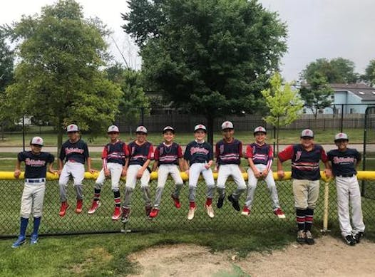 baseball fundraising - Highlanders Baseball 10U Navy
