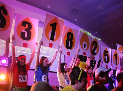 dance-a-thon fundraising - For The Kids at Georgia Tech