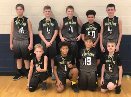 sports teams, athletes & associations fundraising - Iowa Hustlers 7th Grade