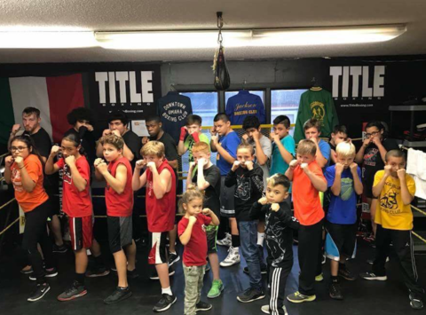 boxing fundraising - Council Bluffs Boxing Club