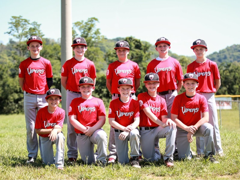 Vipers Baseball Club Black Armstrong