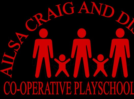 daycare & nurseries fundraising - Ailsa Craig Playschool