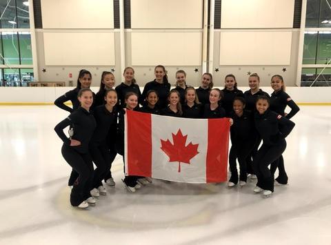 sports teams, athletes & associations fundraising - Gold Ice Synchronized Skating