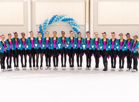 sports teams, athletes & associations fundraising - Gold Ice Synchronized Skating