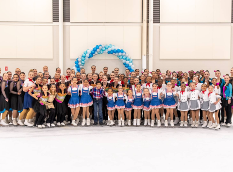 sports teams, athletes & associations fundraising - Gold Ice Synchronized Skating 2018/2019
