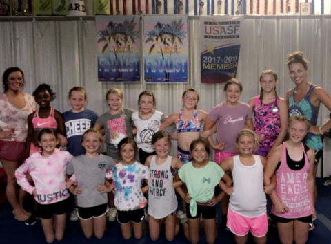 cheerleading fundraising - Cheer Central Elite Youth Diamonds