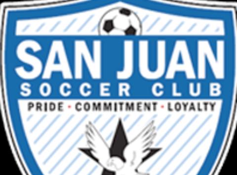 soccer fundraising - San Juan SC 00/01 Blue