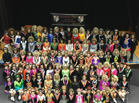 dance fundraising - Doherty Petri Worlds Drama Irish Dance Team