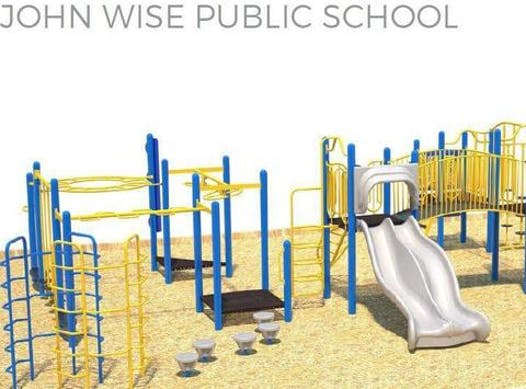 school improvement projects fundraising - John Wise Parent Council - Playground Fund