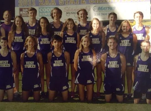 cross country fundraising - WEST STOKES CROSS COUNTRY