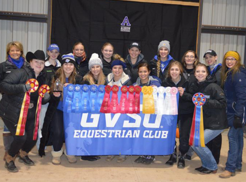 school sports fundraising - GVSU Equestrian Club