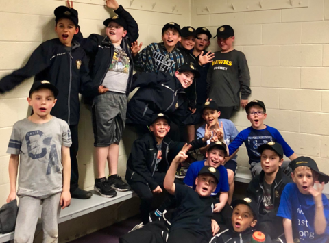 ice hockey fundraising - Meadowvale Hawks