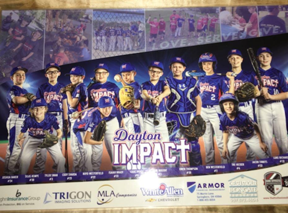 Dayton Impact Blue 12U