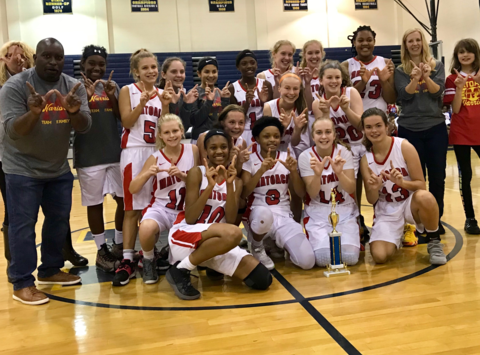 athletics department fundraising - 2018 Lady Warriors -Chesterfield County Champions- Matoaca Middle School