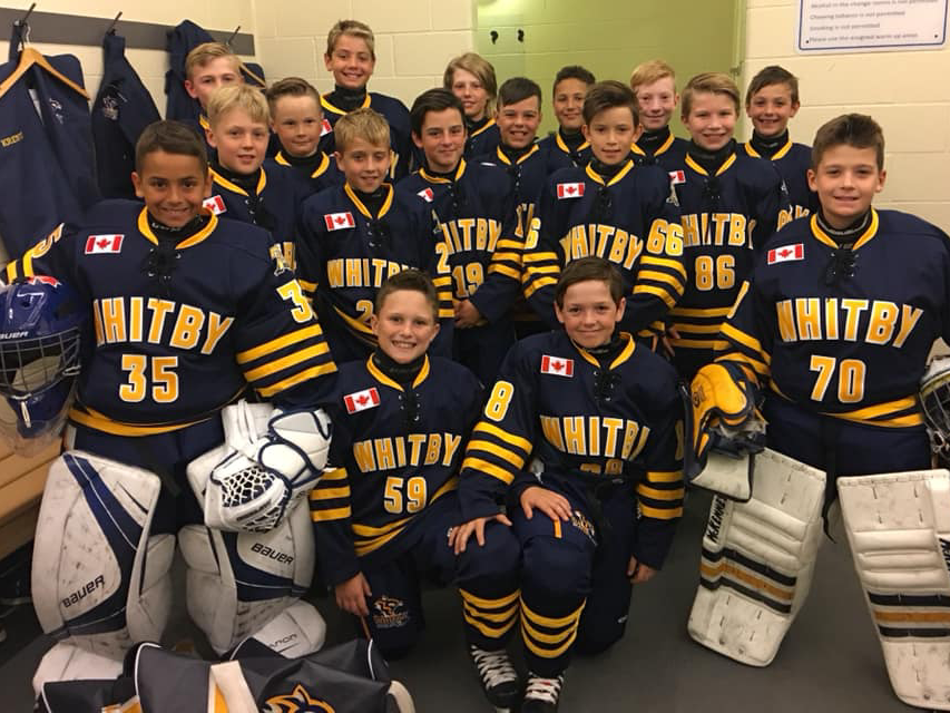 Whitby Wildcats Minor PeeWee AA