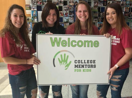 student clubs fundraising - College Mentors for Kids- University of Indianapolis