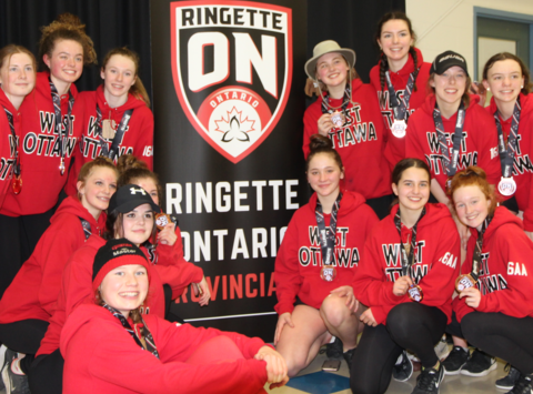 ringette fundraising - West Ottawa Ringette U16AA