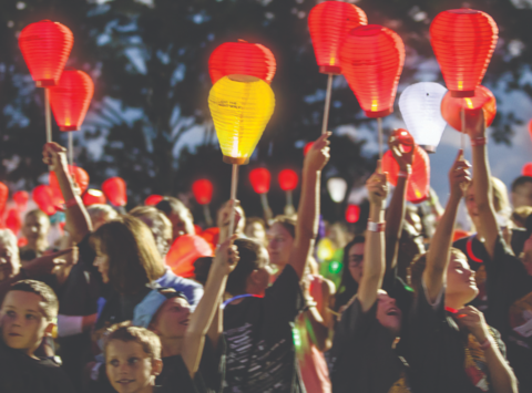 charity event - run, walk, or bike fundraising - 2018 Light The Night - Executive Challenge
