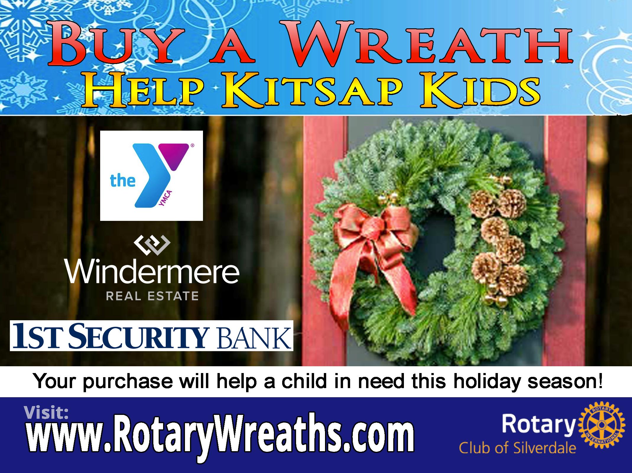 Kitsap Kids Wreaths Fundraiser