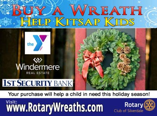 rotary club fundraising - Kitsap Kids Wreaths Fundraiser