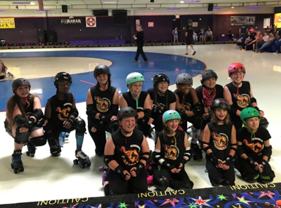 County Line Fireballs Jr Roller Derby