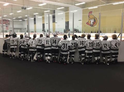 ice hockey fundraising - Silver Seven Major Novice A