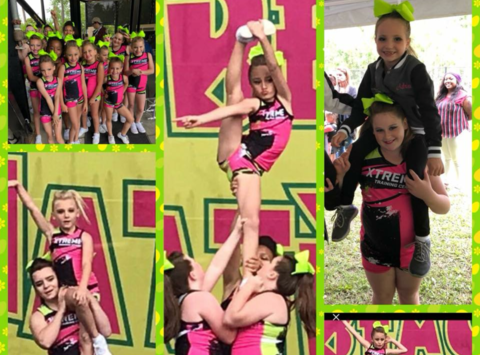 cheerleading fundraising - Xtreme Training Center Competition Team