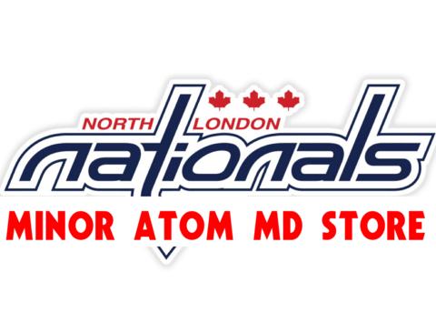 ice hockey fundraising - North London Nationals - Minor Atom MD