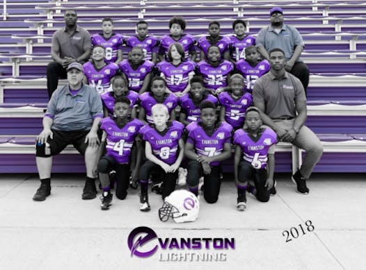 football fundraising - Evanston Lightning