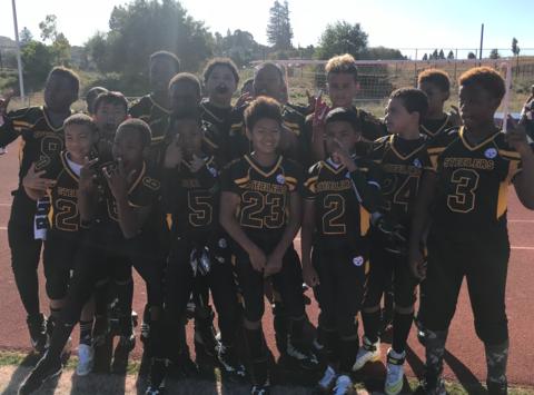 football fundraising - Richmond Steelers 11U JR PEE WEE