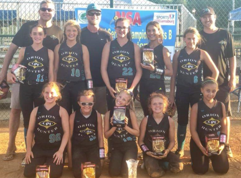 softball fundraising - Orion Hunter Elite 12U Fastpitch