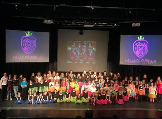 dance fundraising - Casey O'Loughlin Academy of Irish Dance