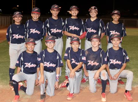 baseball fundraising - LVBA Lightning 12U