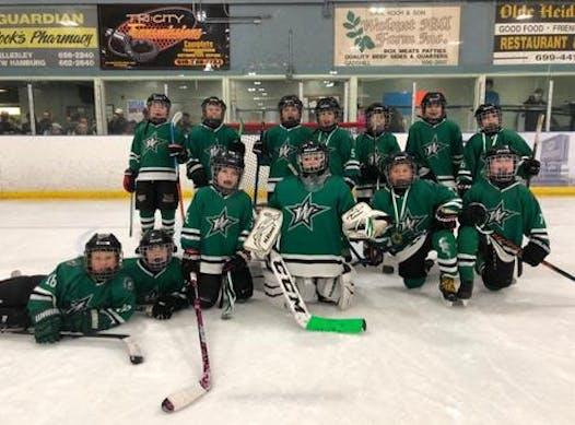 ice hockey fundraising - WB Novice Rep