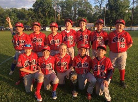 baseball fundraising - Islip Owls Team Kneisel