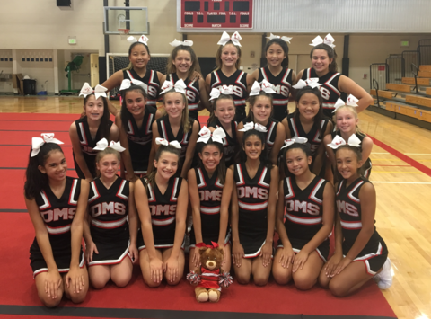 cheerleading fundraising - Dartmouth Middle Cheer 2018-2019