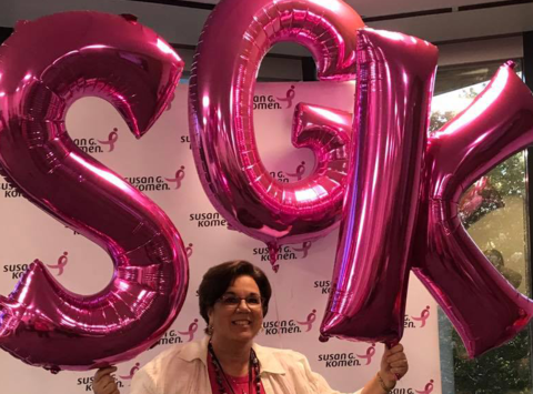 breast cancer fundraising - Kathleen's 2019 3-Day Walk