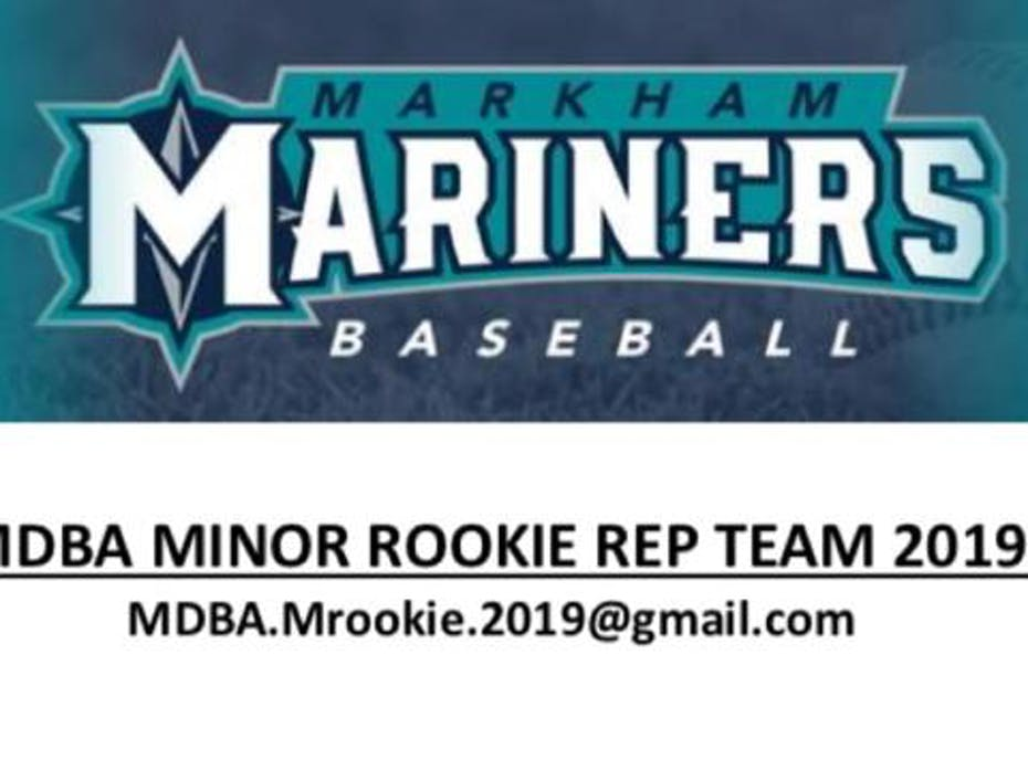 Markham Mariners Minor Rookie 2019