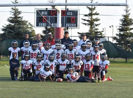 football fundraising - Vaughan Rebels U9