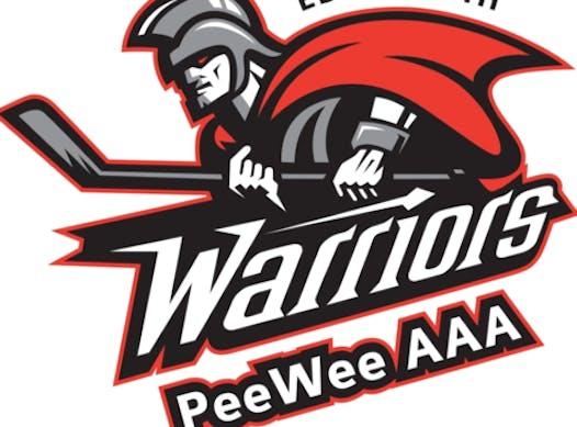 ice hockey fundraising - Peewee AAA Warriors